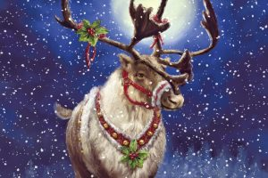 Reindeer Awesome Art