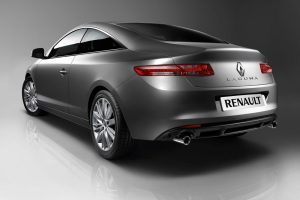 Renault Laguna Coupe 2009 Rear Wide