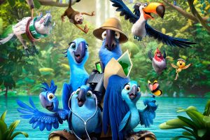 Rio 2 Characters Wide