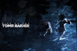 Rise Of The Tomb Raider Artwork Wide