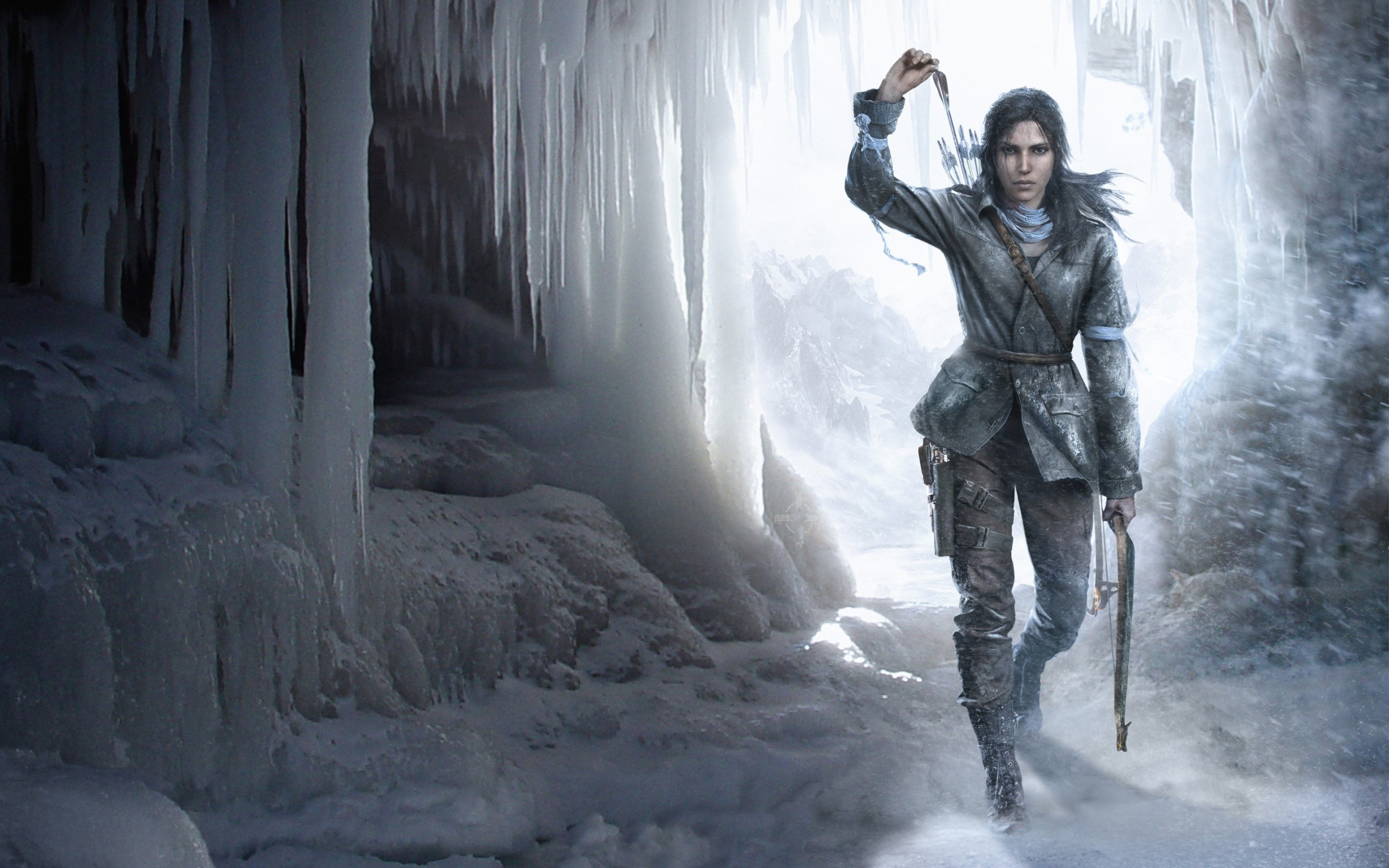 Rise Of The Tomb Raider Video Game Wide