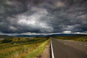Road N Clouds