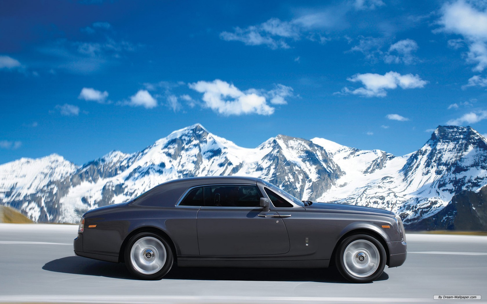 Rolls Royce Phantom Coupe Side View Wide