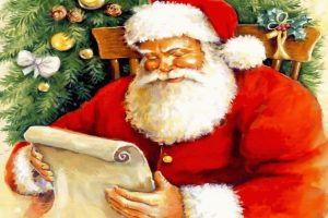 Santa And Letters