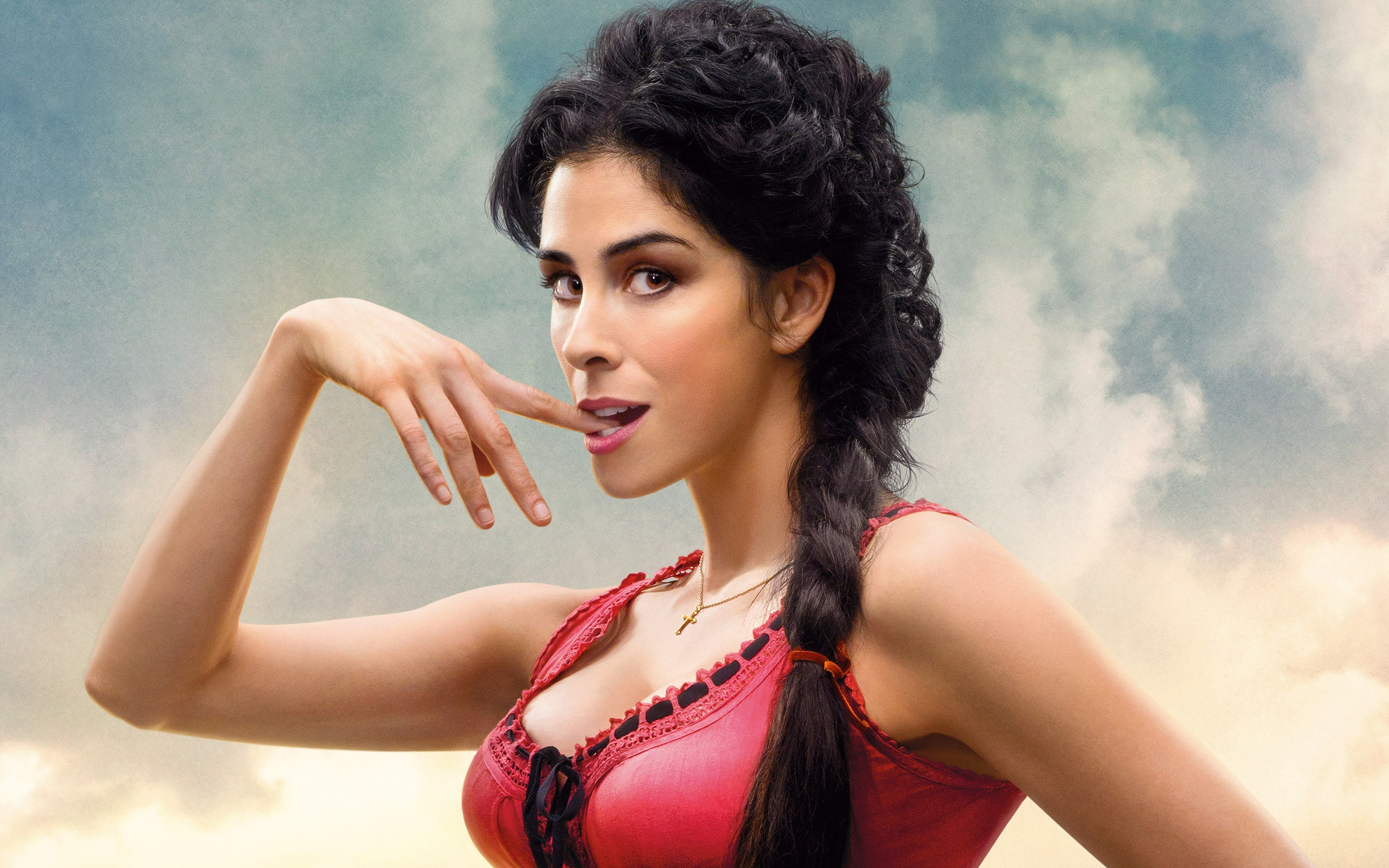 Sarah Silverman A Million Ways To Die In The West Wide