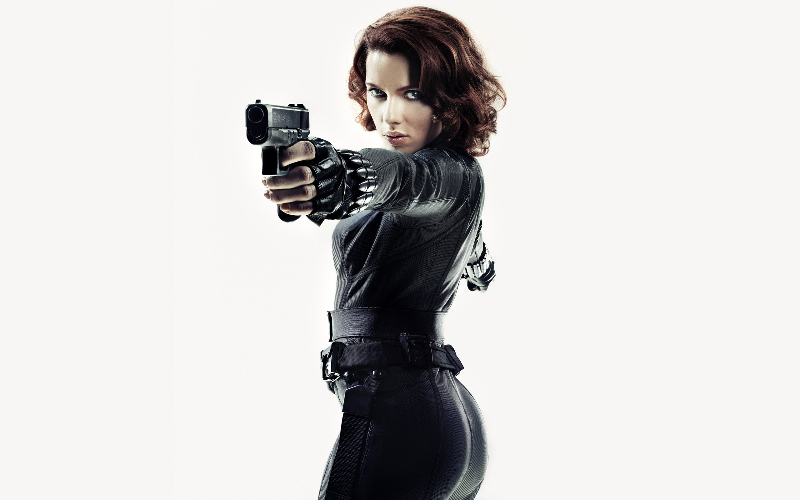 Scarlett Johansson Black Widow Wide