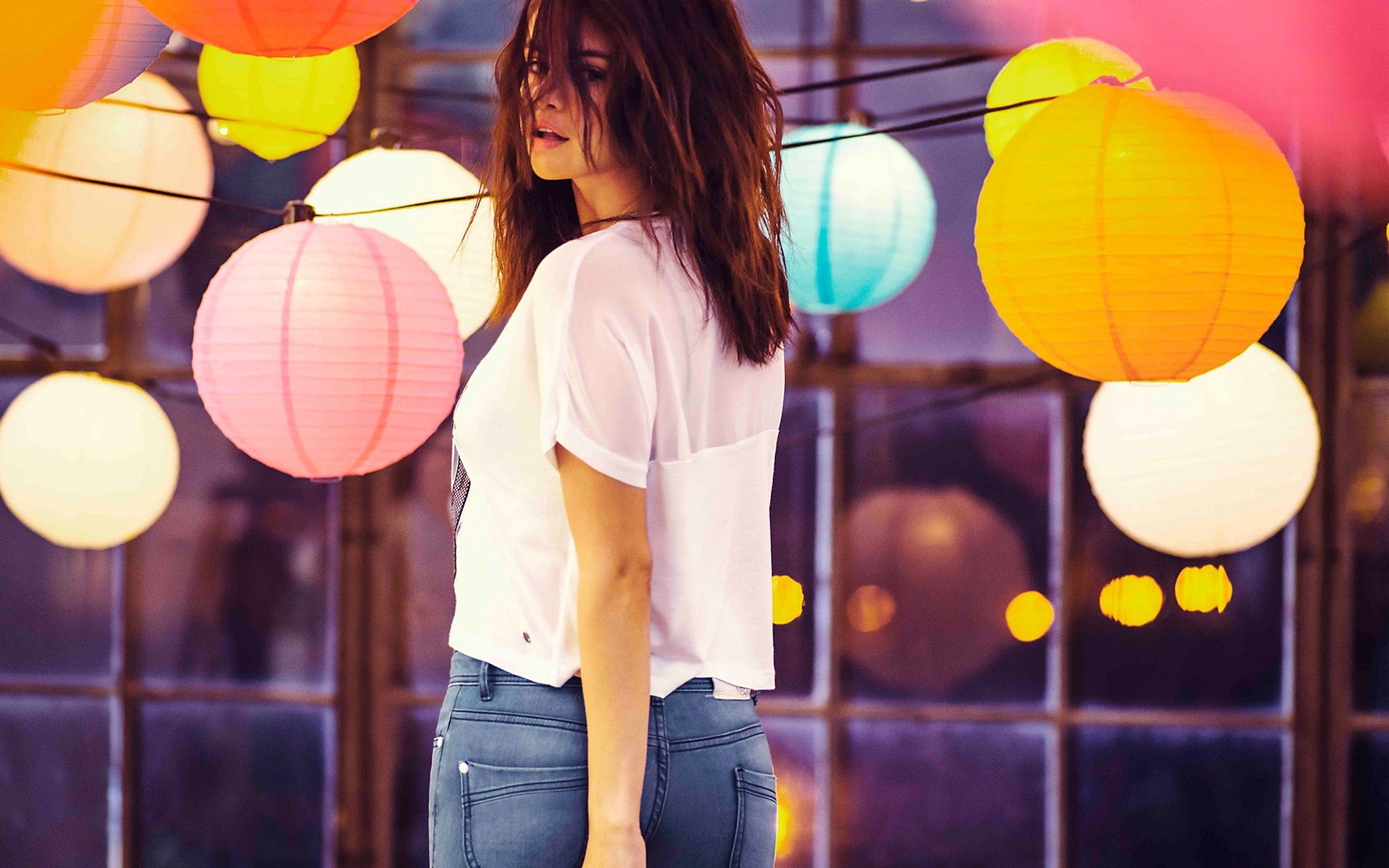 Selena Gomez Models Adidas Neo Label26rsquo3bs Endless Summer 2015 Collection Wide