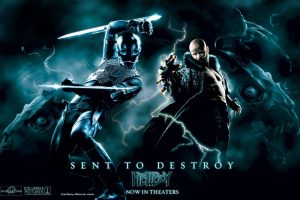 Sent To Destroy Hellboy 2 Movie Poster