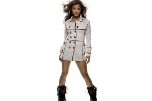 Sexy Girl In Coat And Boots