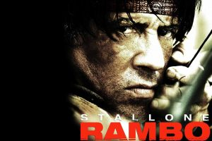 Silvester Stallone In Rambo Movie-Other