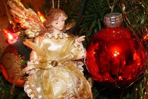 Small Angel On The Christmas Tree