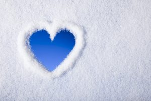 Snow Heart Wide