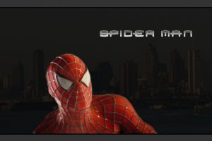 Spider Man Black Backgound