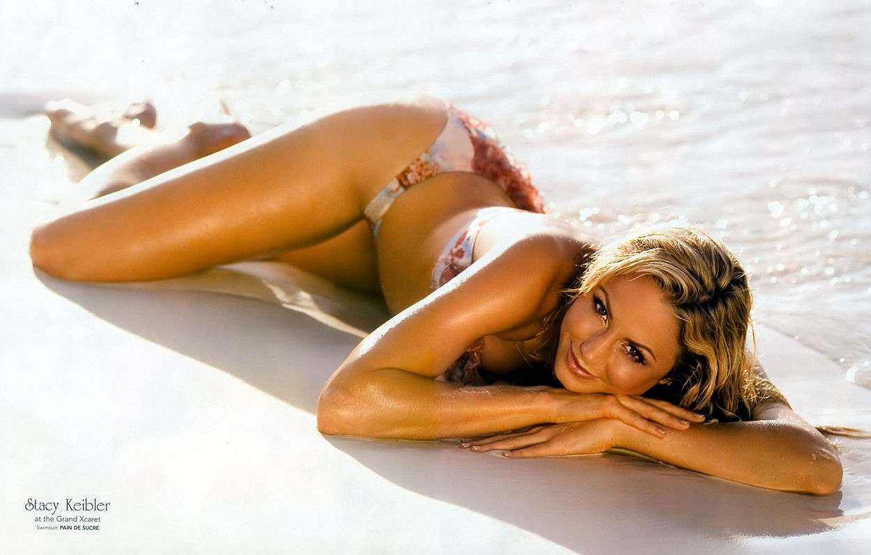 Stacy Keibler On Beach Other 1