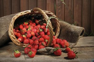 Strawberry Fruits Wide