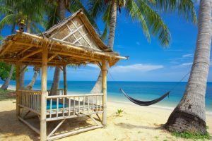 Summers Great Rest Place Near Sea Wide