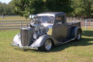 Supercharged Hot Rod Wide