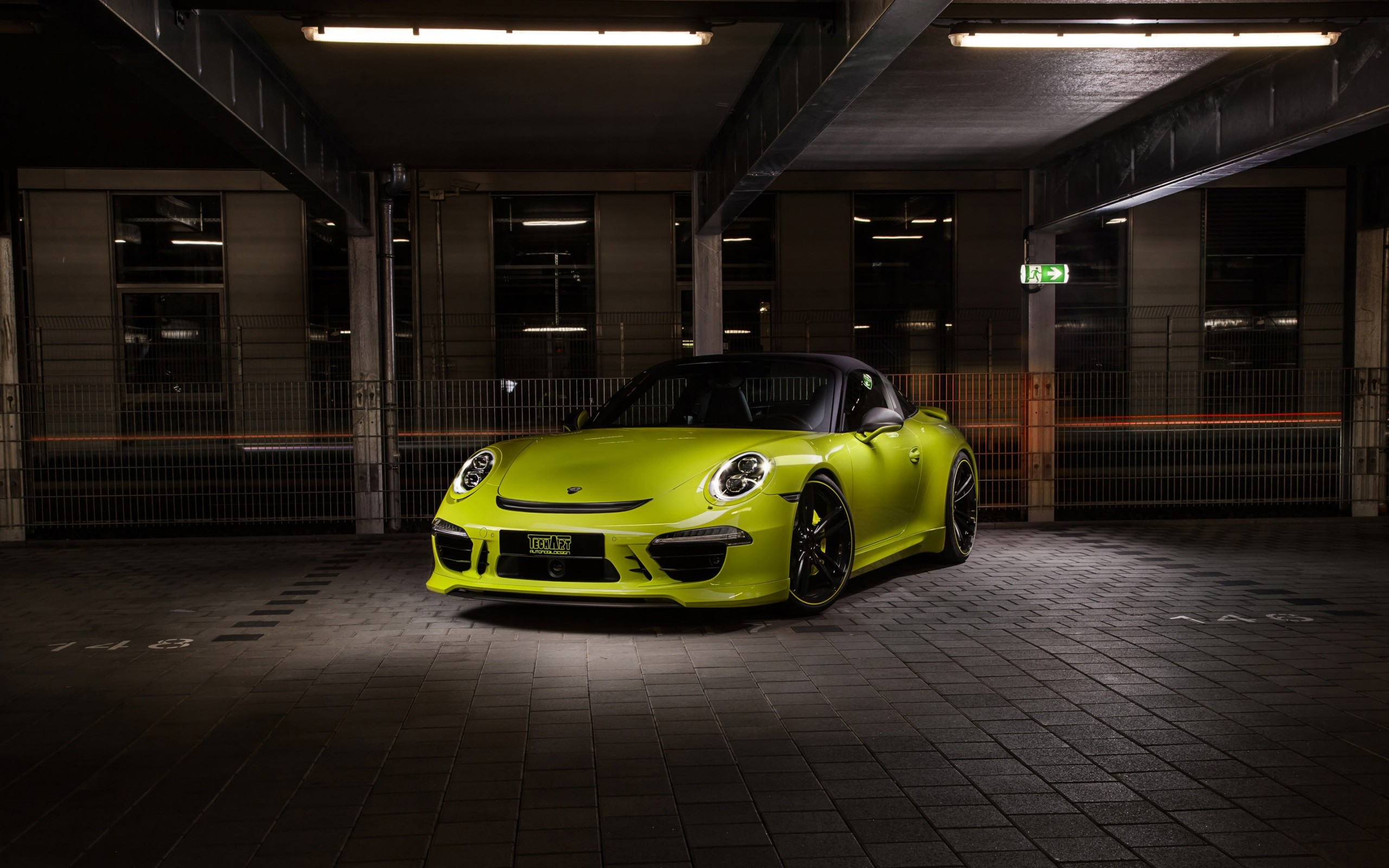 Techart Porsche 911 Targa 4s 2014 Wide