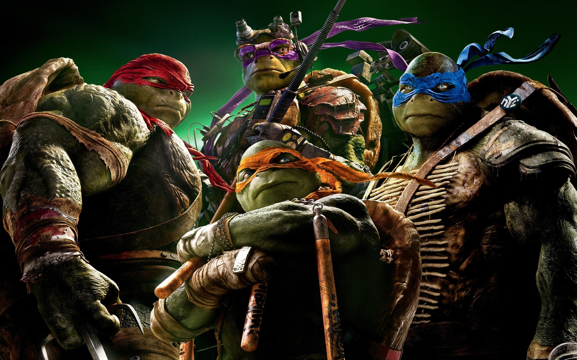 Teenage Mutant Ninja Turtles Tmnt 2014 Wide