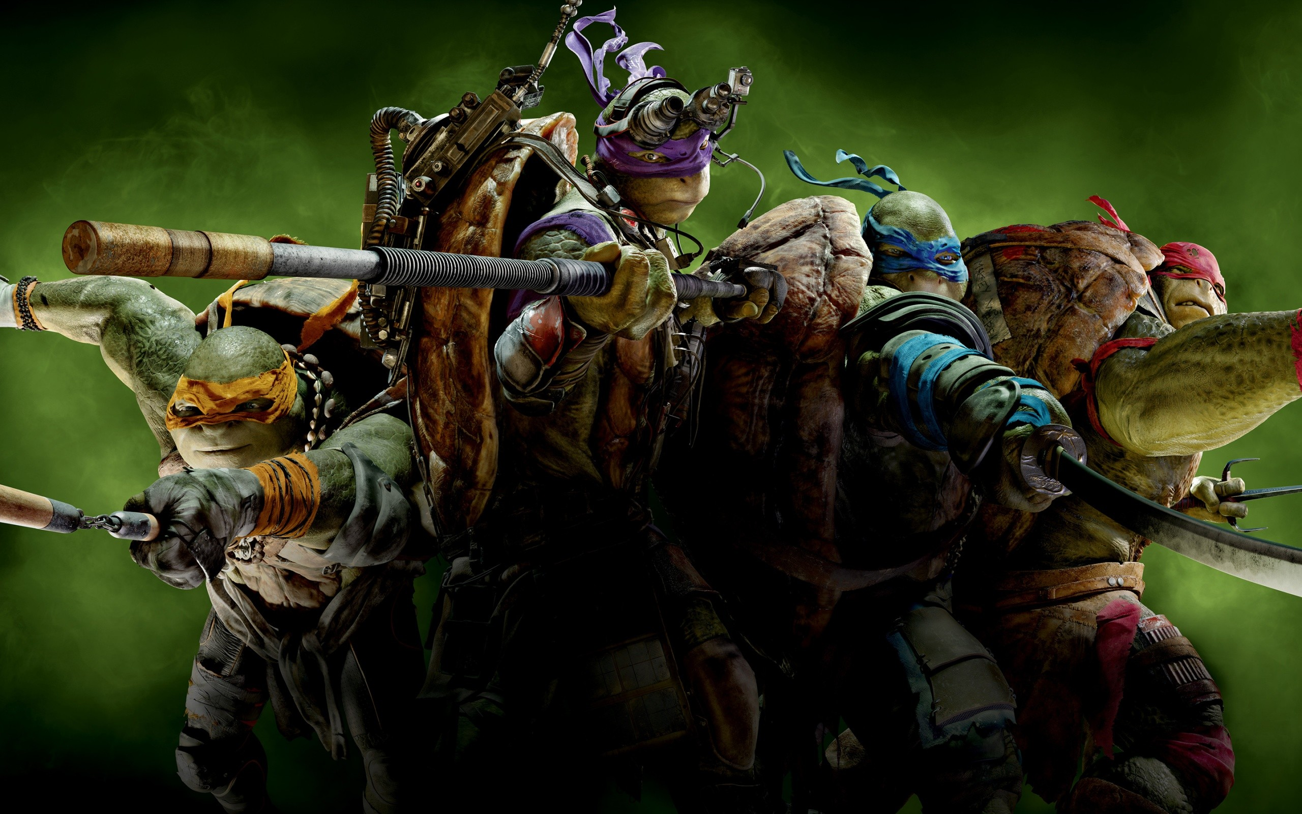 Teenage Mutant Ninja Turtles Wide