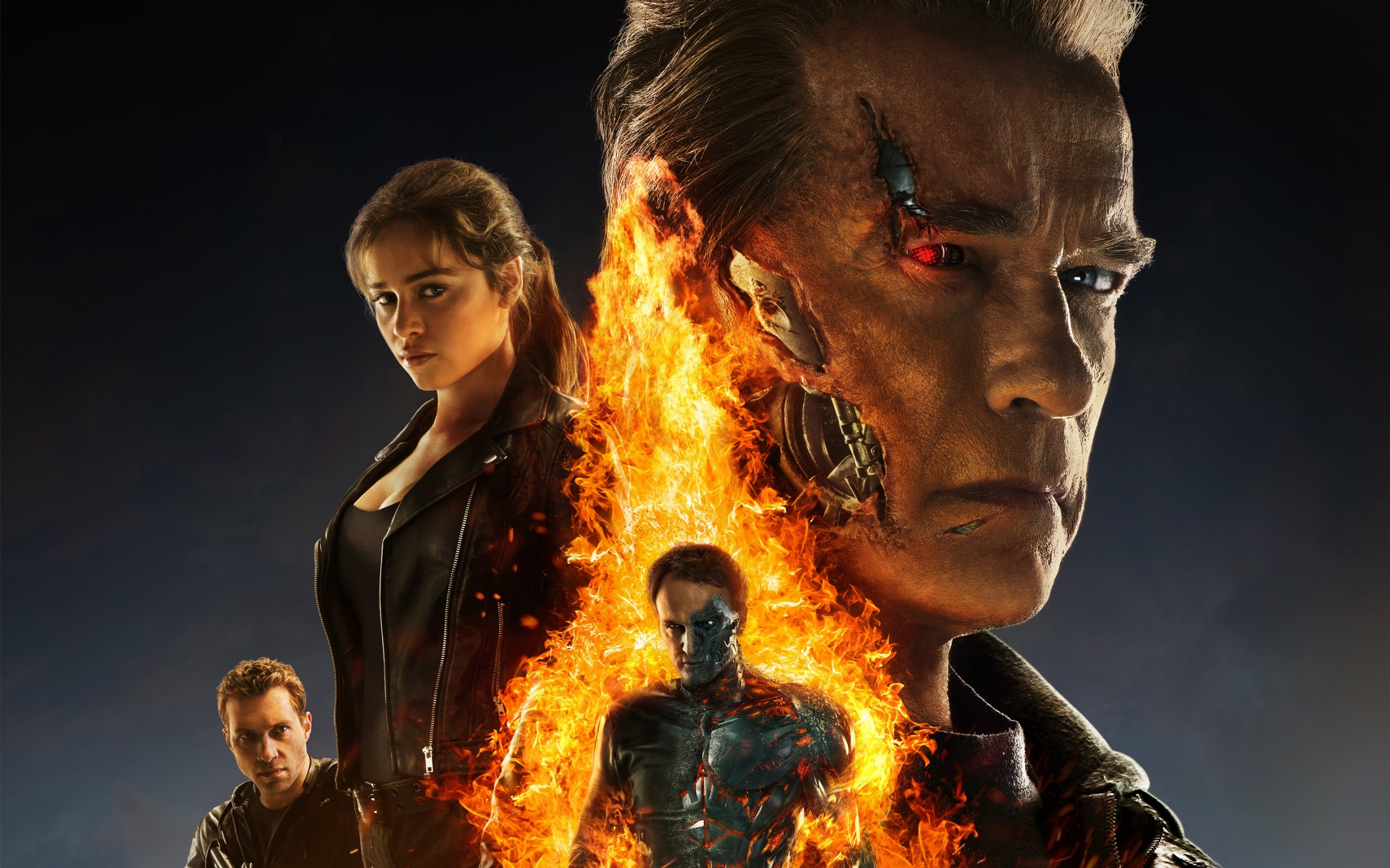 Terminator Genisys Poster Wide
