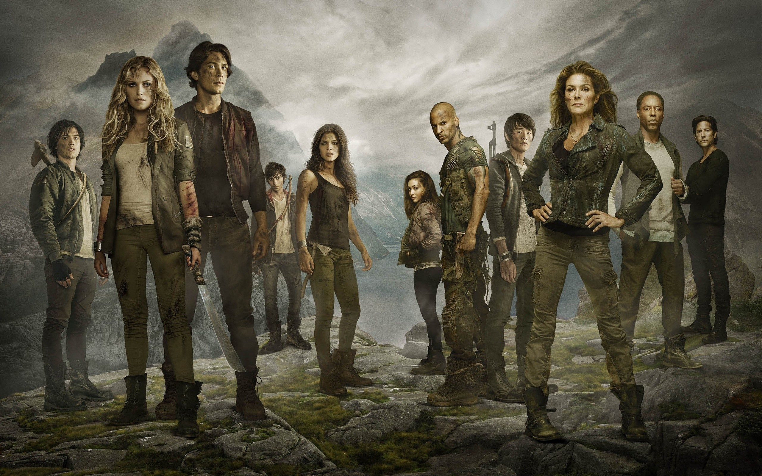 The 100 Tv Series Wide