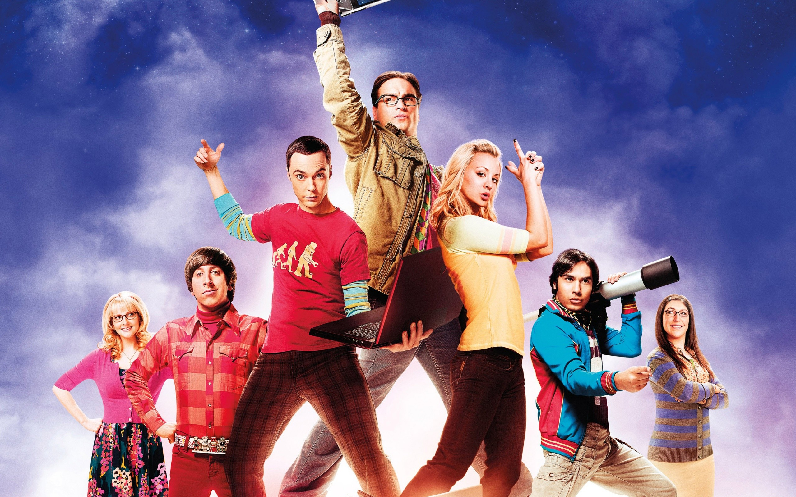 The Big Bang Theory Tv Series Wide
