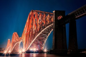 The Forth Bridge Edinburgh Wide