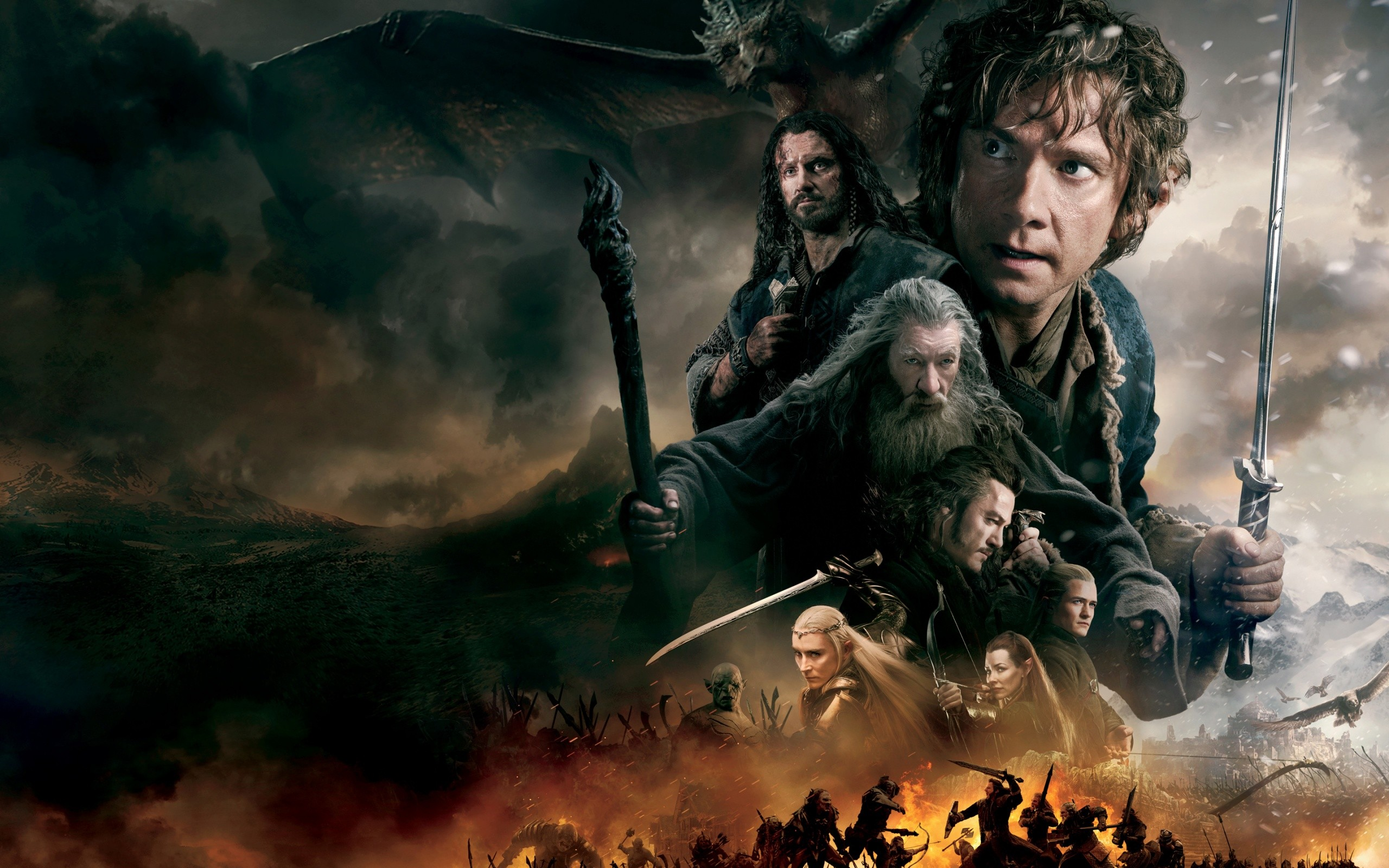 The Hobbit The Battle Of The Five Armies 2014 Wide