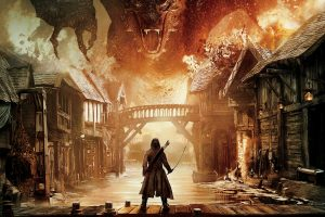 The Hobbit The Battle Of The Five Armies Smaug Vs Bard