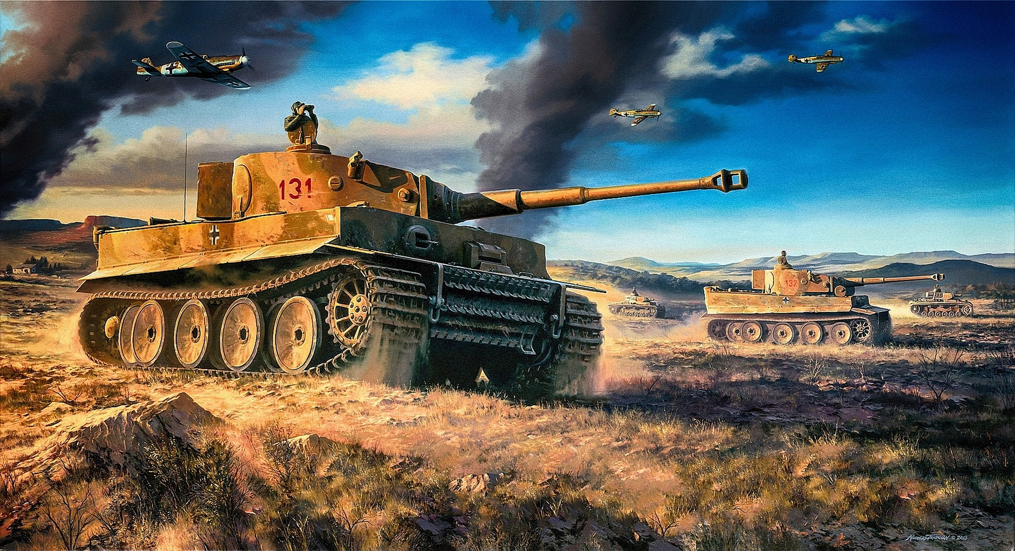 Tiger Tank 131 Other