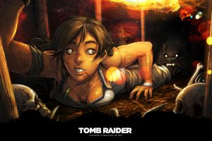 Tomb Raider Art Wide