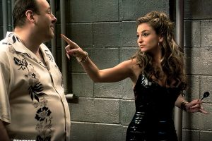 Tony Soprano And Adriana La Cerva