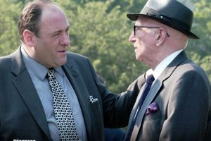 Tony Soprano And Junior Soprano