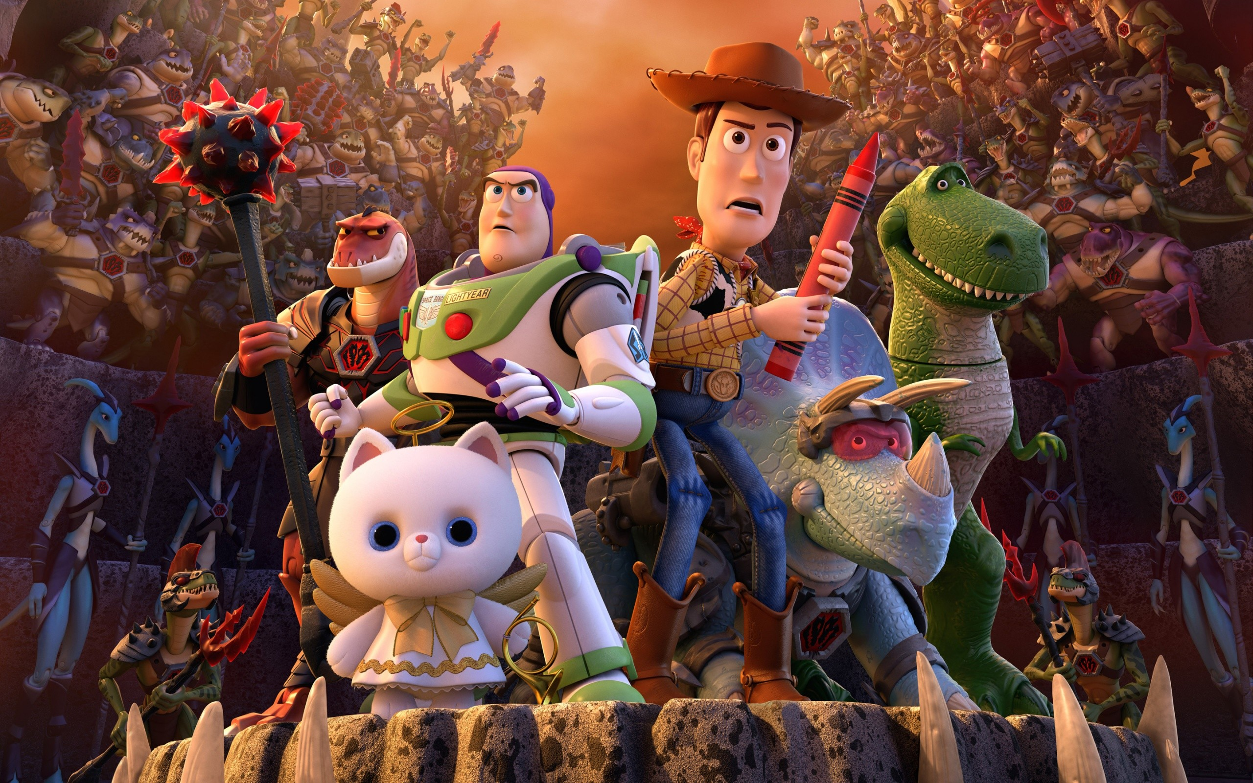 Toy Story That Time Forgot Wide