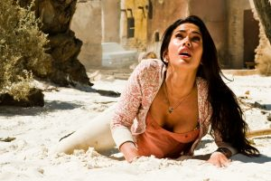 Transformers 2 – Megan Fox On The Ground Wide