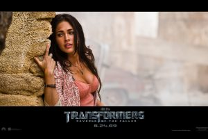 Transformers 2 – Megan Fox Wide