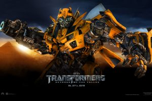 Transformers 2 Official Cover Wide