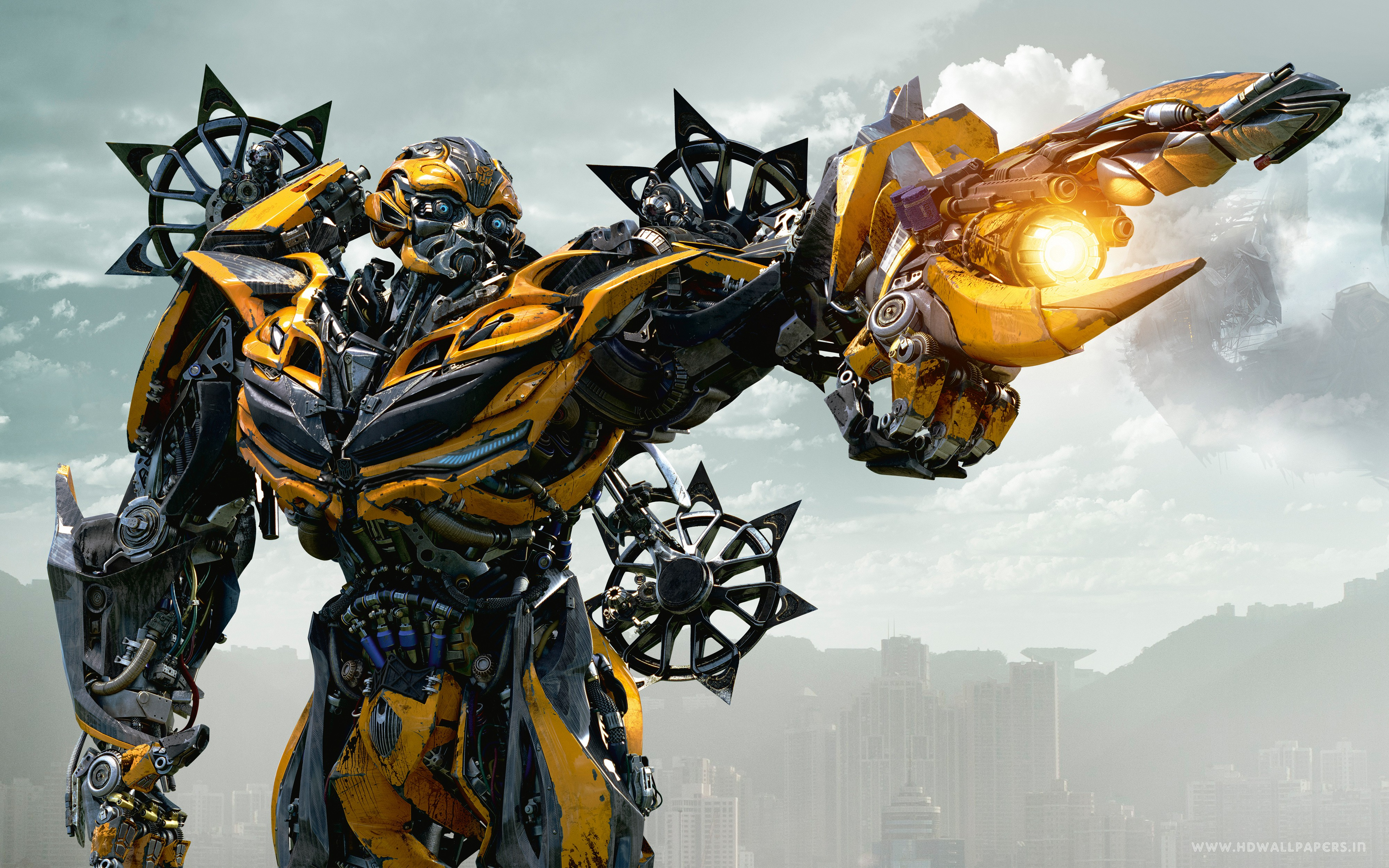 Transformers 4 Age Of Extinction Bumblebee Wide
