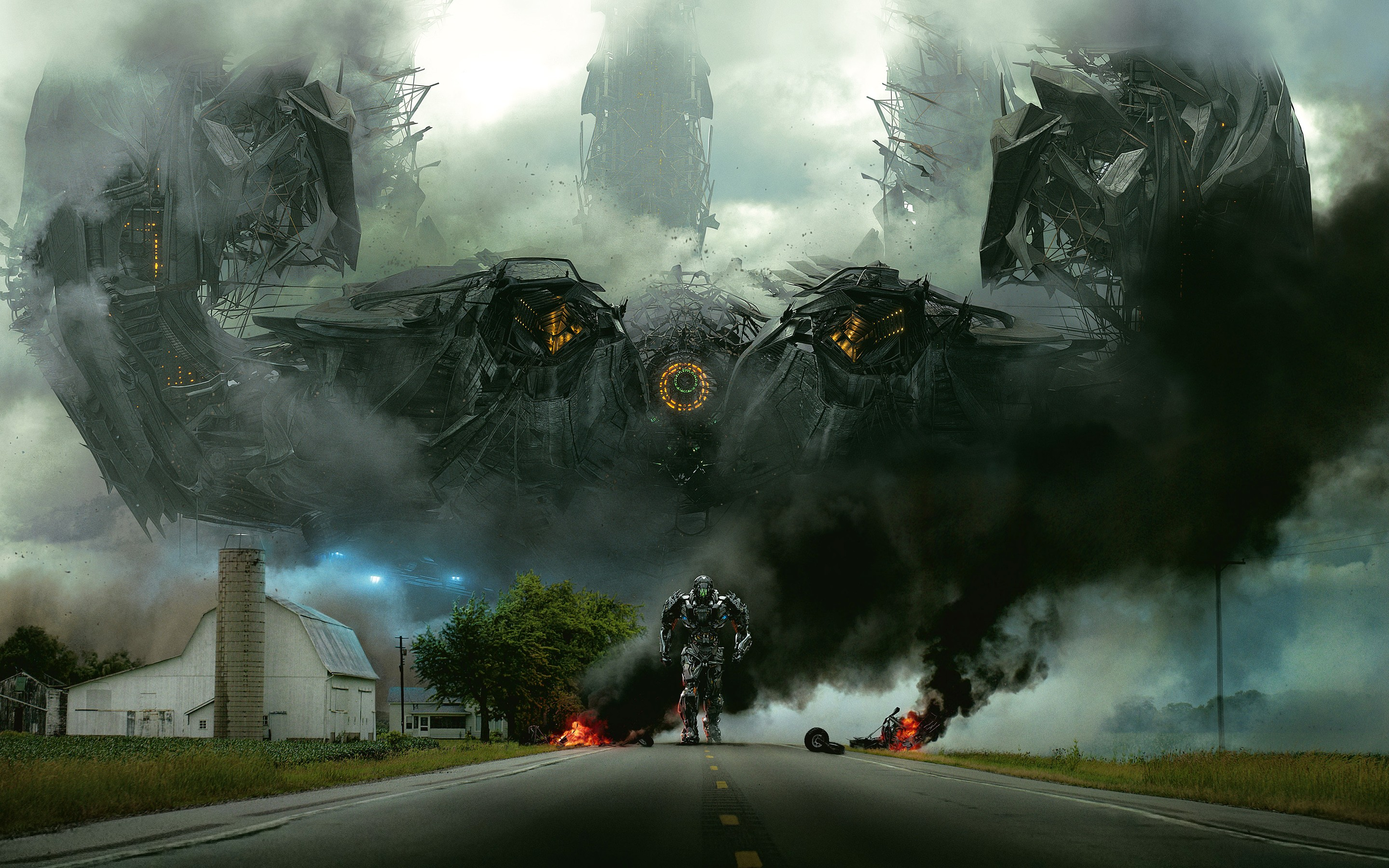 Transformers 4 Age Of Extinction Lockdown Wide