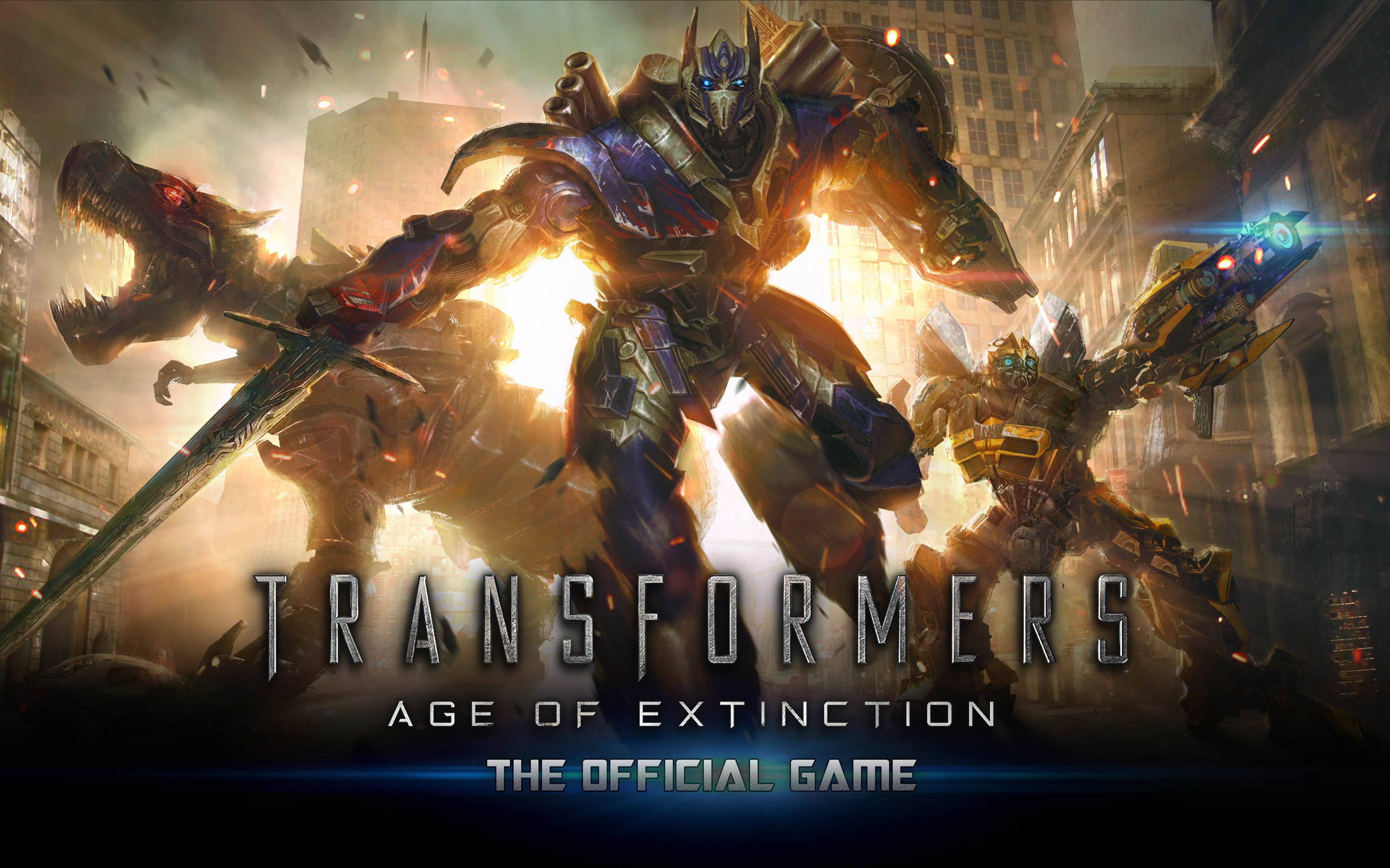 Transformers Age Of Extinction Game Wide