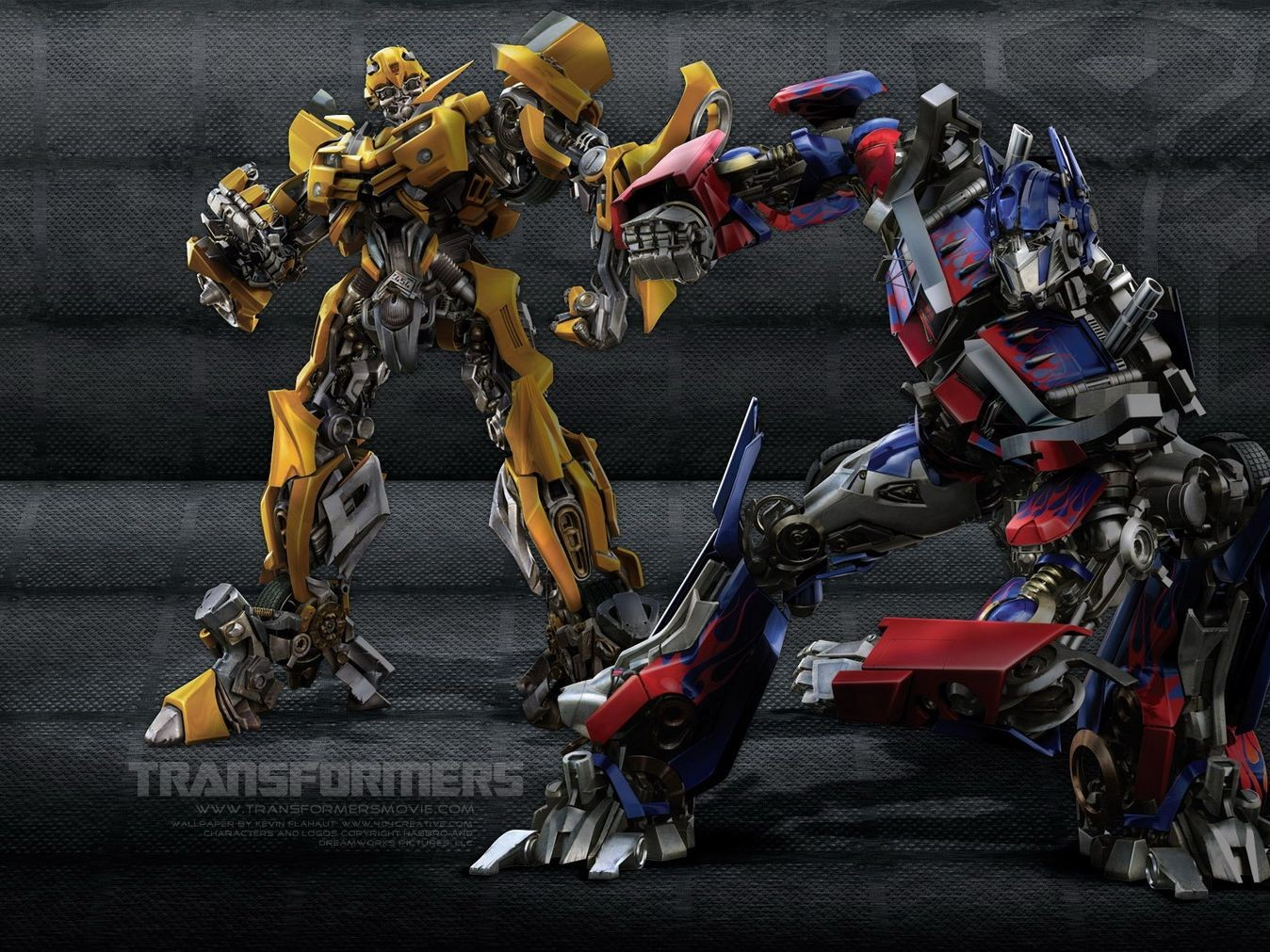 Transformers Fighting Background