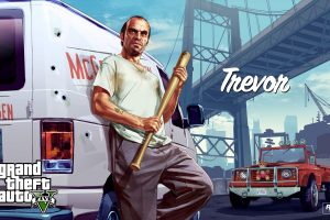 Trevor With Van GTA 5