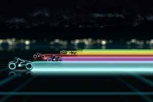 Tron Legacy 2010 Wide