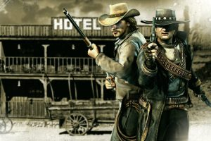 Trouble At West Call Of Juarez Wide