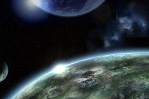 Universe Or Close To Earth