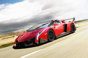 Veneno Roadster 2014 Wide