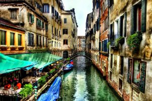 Venice Italy Hdr Wide