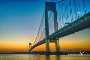 Verrazzano Narrows Bridge Wide