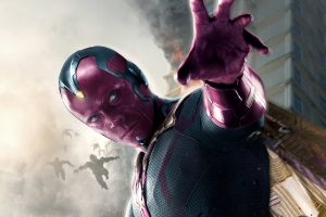 Vision In Avengers Age Of Ultron Wide